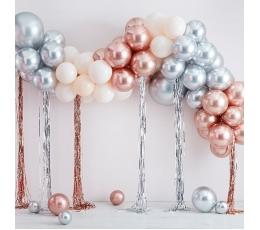 "Balonu vītne - arka ""Izveido pats"", metalizēta (95 baloni)"