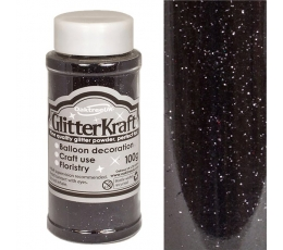 Berami glitteri, melni (100 g)