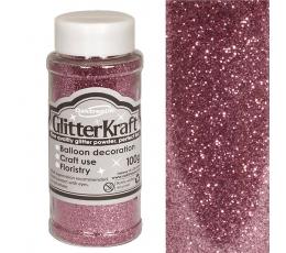 Berami glitteri, rozā (100 g)