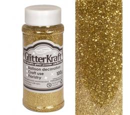 Berami glitteri, zelta (100 g)