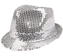 Cepure, spīdīga - sudraba