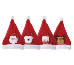 """Cepure """"Ziemassvētku smaidiņi"""", bērnu."""