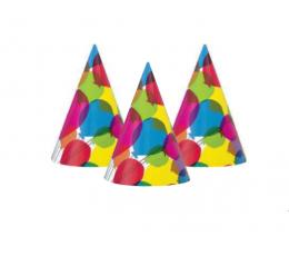 """Cepurītes """"Krāsaini baloni (8 gab)"""