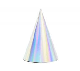 Cepurītes, perlamutra (6 gab)