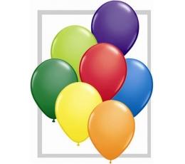 Daudzkrāsaini lateksa baloni (100gab / 13cm. Q5)