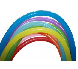 Daudzkrāsaini modelēšanas baloni (100 gab. D4)