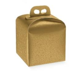 Dāvanu kastīte Sphere Air / zelta (1 gab./200x200x180 mm)