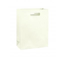 Dāvanu maisiņš, krēmkrāsas (27x11x35 cm)