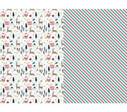 """Dāvanu papīrs """"Ziemassvētki"""" (2 gab/ 70 x 200 cm)"""