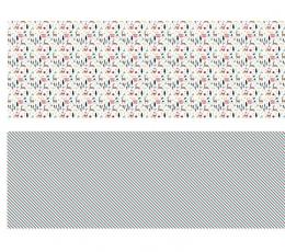 """Dāvanu papīrs """"Ziemassvētki"""" (2 gab/ 70 x 200 cm) 1"""
