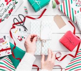 """Dāvanu papīrs """"Ziemassvētki"""" (2 gab/ 70 x 200 cm) 2"""