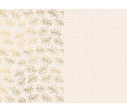 Dāvanu saiņošanas papīrs, krēmkrāsas (2 gab/70x200 cm)