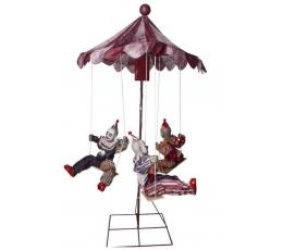 "Dekorācija ""Klaunu karuselis"""