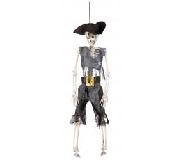 """Dekorācija """"Pirāts - skelets"""" (1gab/40cm)"""