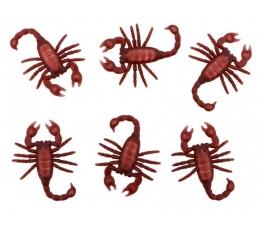 """Dekorācija """"Skorpioni"""" (6 gab. / 5 x 8 cm)"""
