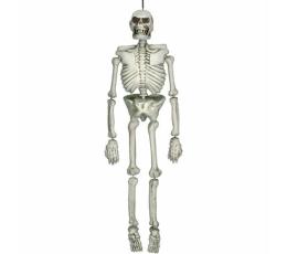 """Dekorācija """"Skelets"""", dzeltenīgs (1,37 m)"""
