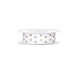 "Dekoratīva lente ""Zelta zvaigznes"" (10 m)"