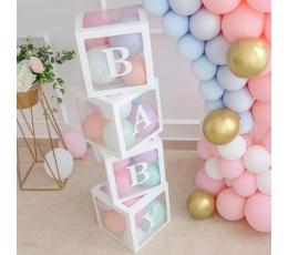 "Dekoratīvas kastītes ""BABY"" (4 gab.)"