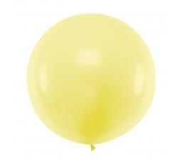 Liels balons, pasteļdzeltens (1 m)
