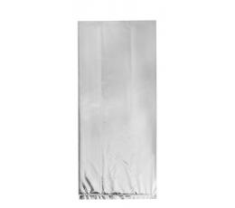 Dāvanu maisiņi, sudraba spīdīgi  (10 gab)