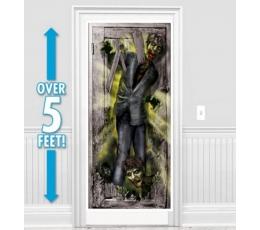 """Durvju plakāts """"Zombie"""" (165 x 85 cm)"""