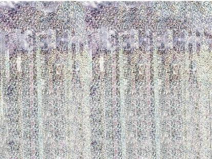 Folija aizkari, hologrāfiski (90x250 cm)