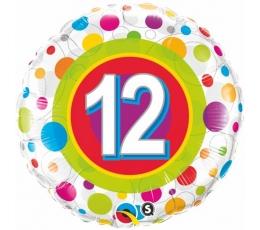 """Folija balons """"12"""" (46 cm)"""