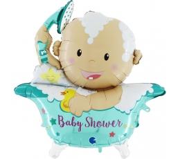 "Folija balons, 3D ""Baby Shower"" (107 cm)"