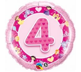 """Folija balons """"4"""" (46 cm)"""