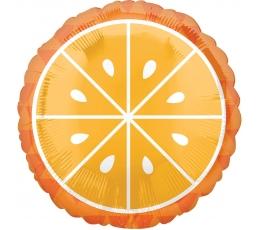 """Folija balons """"Apelsīns"""" (43 cm)"""