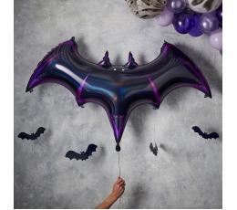 """Folija balons ar karināmām dekorācijām """"Sikspārnis"""" (130x80 cm)"""