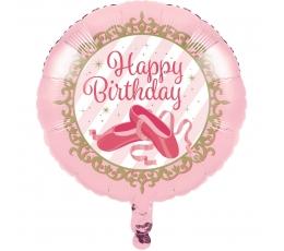 "Folija balons ""Balets"" (45 cm)"