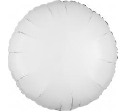 """Folija balons """"Baltais aplis"""" (43 cm)"""