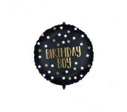 """Folija balons """"Birthday Boy"""" (46 cm)"""
