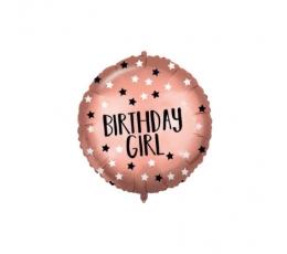"Folija balons ""Birthday Girl"" (46 cm)"