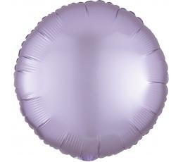Folija balons, ceriņa krāsas - apaļš, matēts (43 cm)