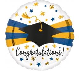 "Folija balons ""Congratulations"" (43 cm)"