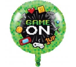 """Folija balons """"Datorspēles"""" (45,7 cm)"""