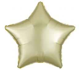 "Folija balons ""Dzeltena zvaigzne"", matēta (48 cm)"