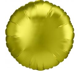 """Folija balons """"Dzeltenīgs aplis"""", matēts (43 cm)"""