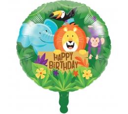 """Folija balons """"Džungļi"""" (45,7 cm)"""
