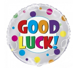 "Folija balons ""Good luck"" (45 cm)"