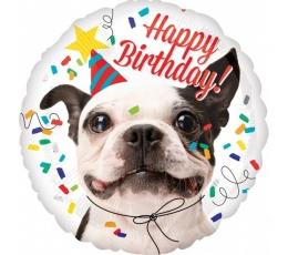 "Folija balons ""Happy Birthday!"" (43 cm)"