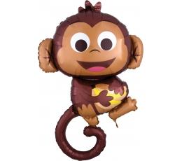 """Folija balons """"Happy monkey""""(63 x 91cm)"""