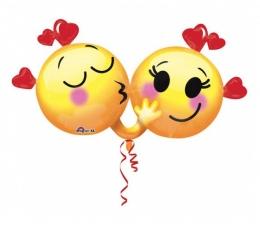 """Folija balons """"Iemīlējušies smaidiņi"""""""