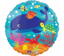 """Folija balons """"Jūras iemītnieki"""" (43 cm)"""