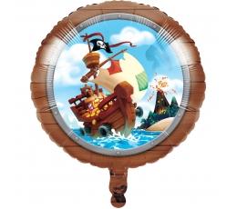 """Folija balons """"Jūras pirāti"""" (45 cm)"""