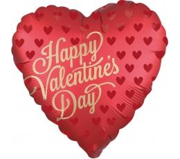 """Folija balons """"Laimīgu Valentīna dienu"""" (18 x 45cm)"""