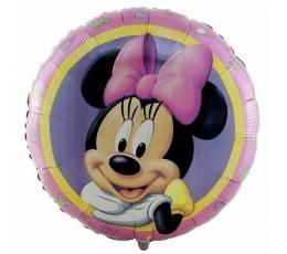 """Folija balons """"Līksmā Pelīte Minnija"""" (43 cm)"""