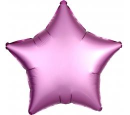 """Folija balons """"Lillā zvaigzne"""", matēts (43 cm)"""